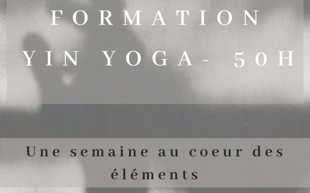 Formation au Yin Yoga